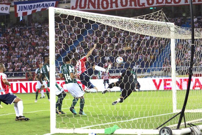 Díaz, Teófilo y Ruiz dan el triunfo al Junior ante el Cali
