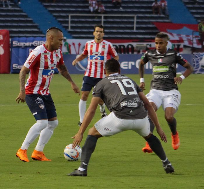 Junior goleó a Once Caldas y sigue en franca recuperación