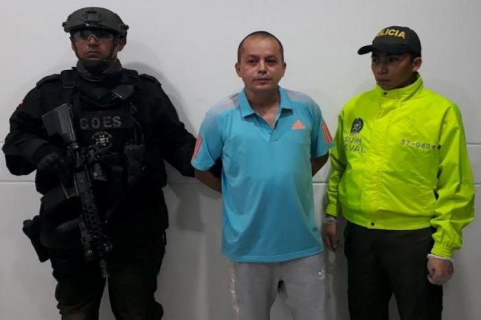 Capturan a alias Elkin Triana, fundador de la estructura delincuencial