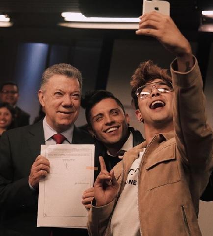 Trabajaremos por una Colombia libre de discriminación — Santos
