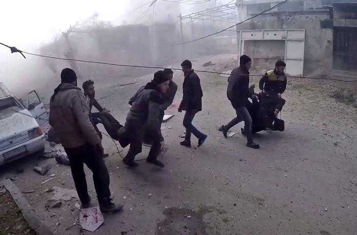 Bombardeos turcos contra Afrín, Siria, provocan 20 muertos