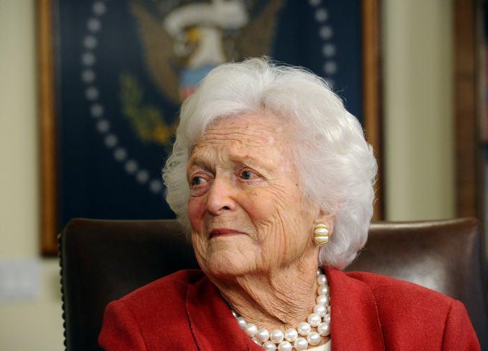 Murió Barbara Bush, ex primera dama de Estados Unidos