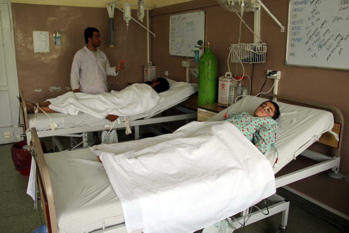 Ataque terrorista: 11 niños muertos