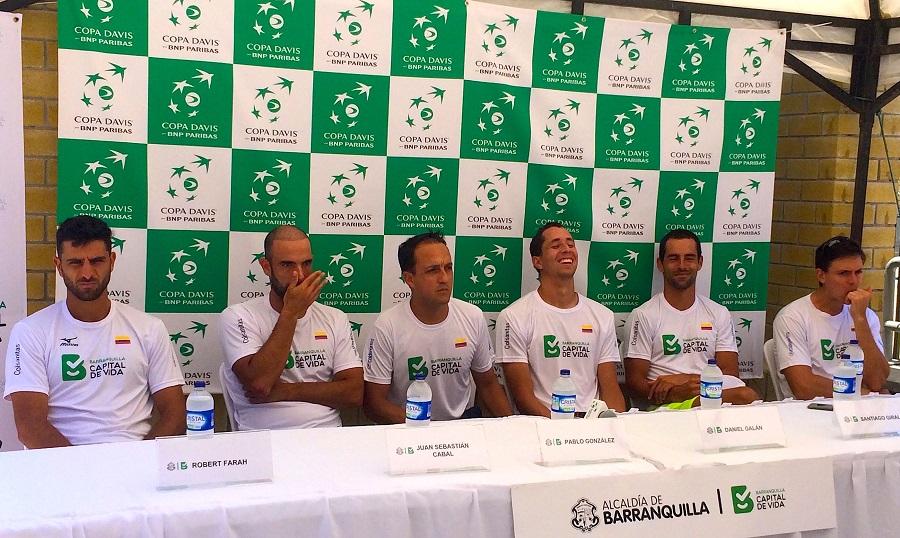 Davis: Giraldo-Monteiro abrirán serie Colombia-Brasil