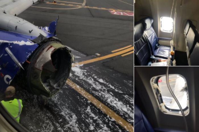 Revelan audios del aterrizaje de emergencia en EUA