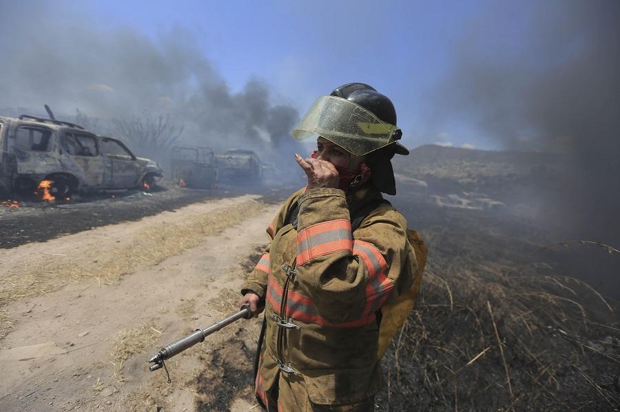 Incendio forestal en Honduras mata a dos bomberos