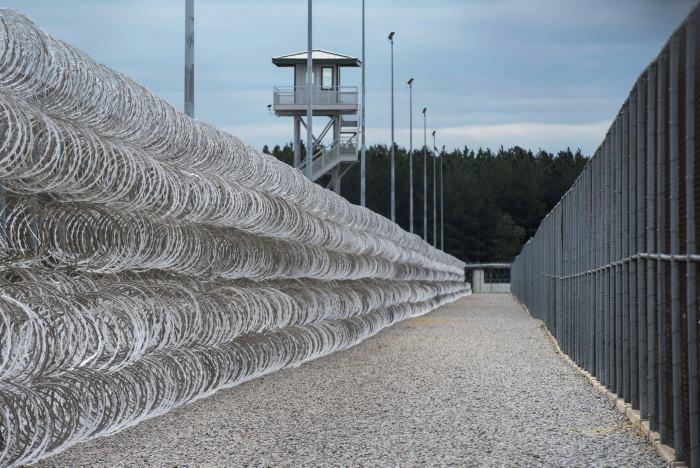 El centro penitenciario de máxima seguridad de Bishopville alberga a unos 1.500 presos
