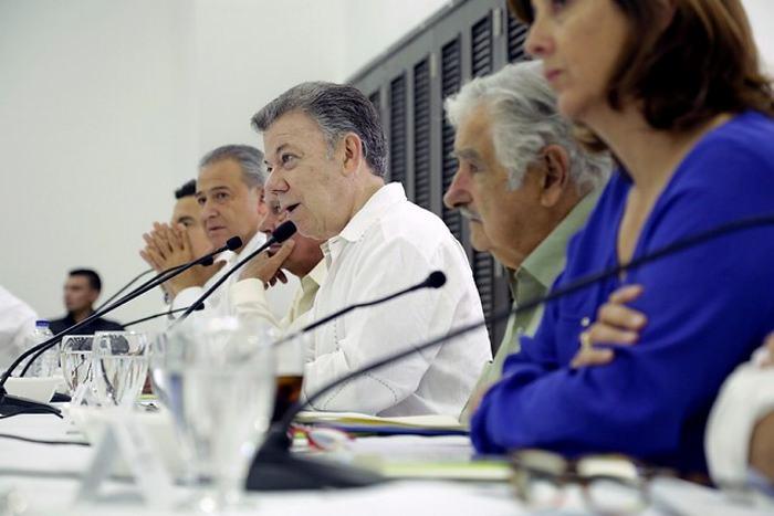 Miembros de la Farc y 'Pepe' Mujica se reunieron en Cartagena