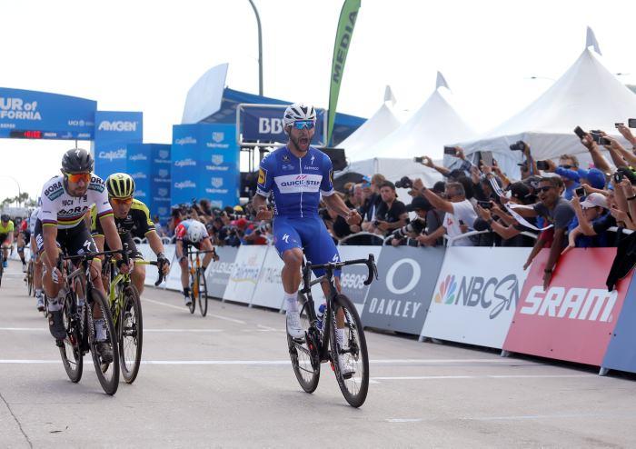"Colombiano Fernando Gaviria gana quinta etapa del Tour de California"""