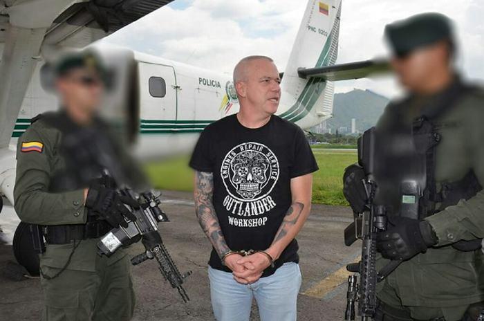 Detienen en Colombia a Popeye, exjefe de sicarios de Pablo Escobar