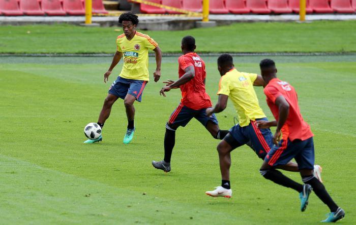 Maluma acompaña a selección de Colombia en despedida