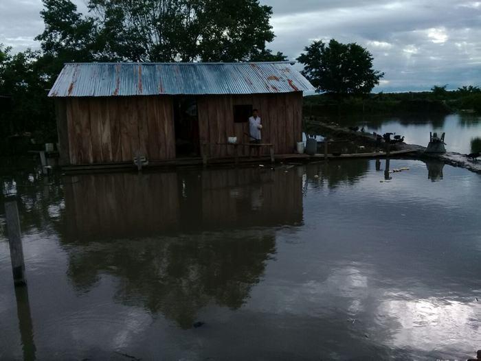 El río Magdalena fue el primero en causar estragos en el sur de Bolívar por lo que se mantienen activa las alertas por el río Cauca. / Cortesía