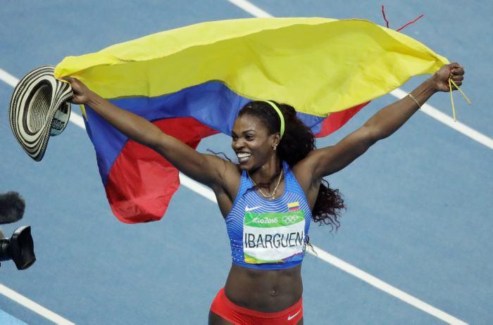 Colombiana Ibargüen logra su primer oro en Centroamericanos