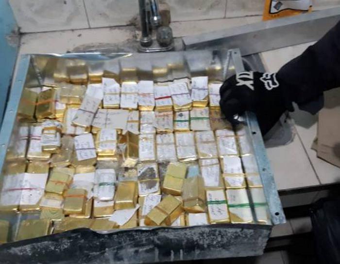 Hallan caleta con 54 kilos de oro del Clan del Golfo
