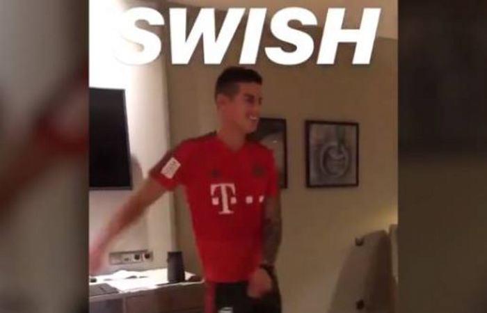 James y su divertido baile al ritmo de Katy Perry