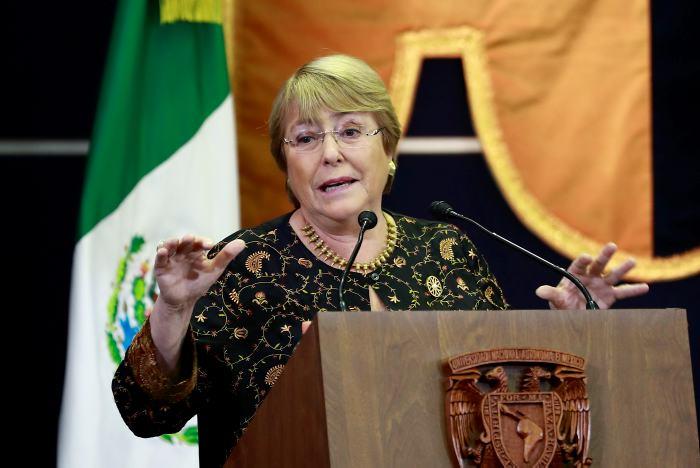 Michelle Bachelet, ahora Alta Comisionada para los Derechos Humanos de la ONU