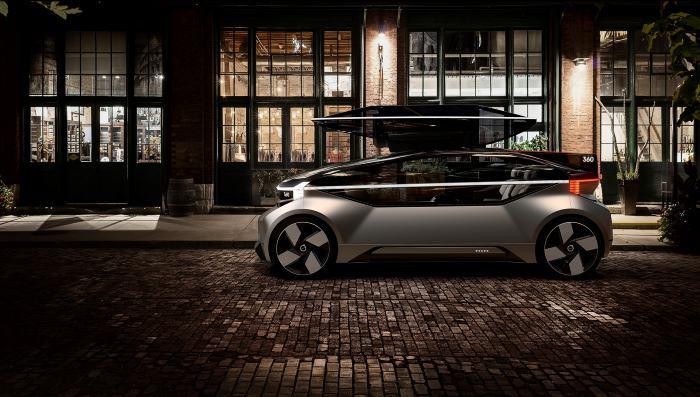 Revoluciona Volvo el futuro con el lanzamiento de su prototipo 360c