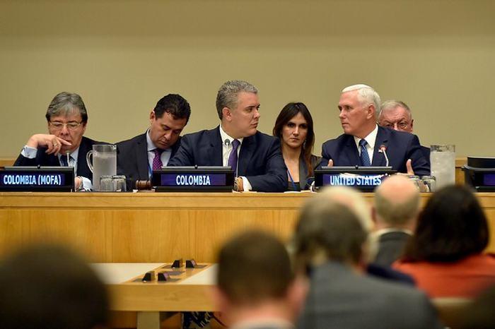 Duque resalta crisis de Venezuela durante visita a Nueva York