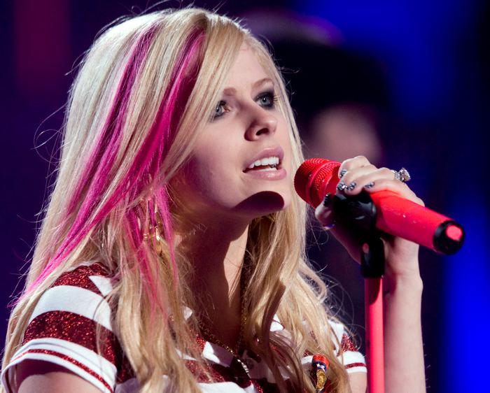 Avril Lavigne compartió