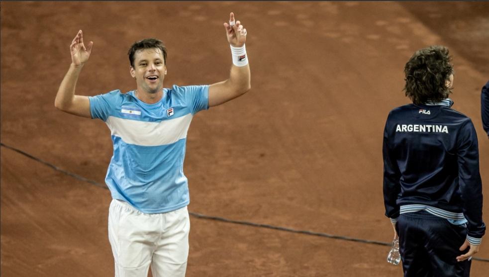 Zeballos cerró la serie con triunfo para la Argentina