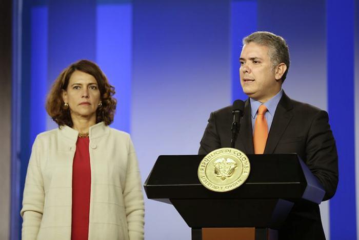 Duque presenta paquete de leyes contra la corrupción