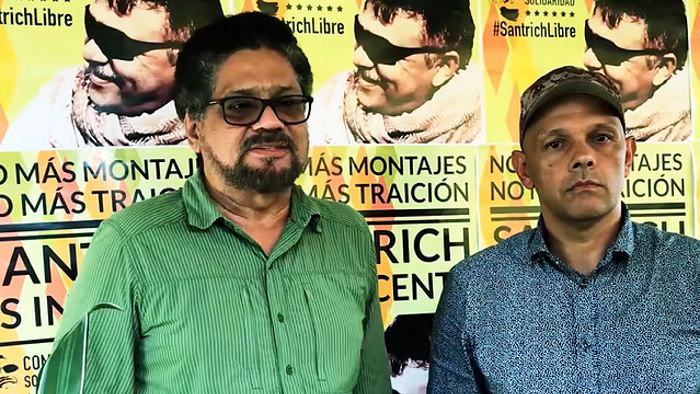 Reaparece con carta Fabián Ramírez de las Farc