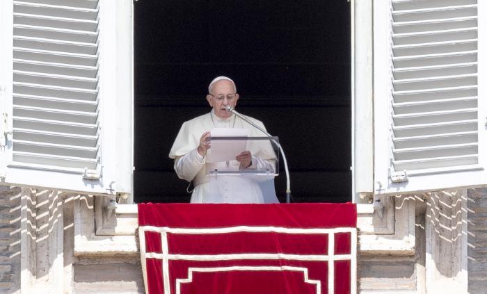 El papa Francisco advierte de catástrofe humanitaria en Siria