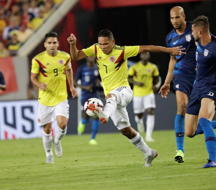Amistoso: Colombia 4-2 Estados Unidos