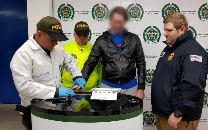 Arrestan en 4 países a 30 personas que traficaban cocaína colombiana