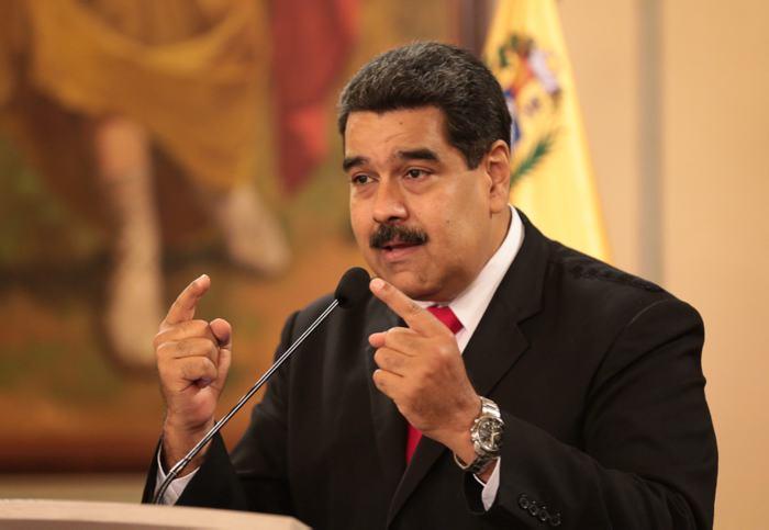 """Maduro dice que EEUU dio """"la tarea"""" al Gobierno de Colombia de asesinarlo"""