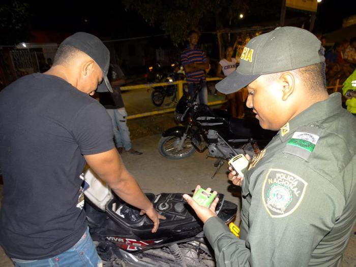 Policía adelantó ofensiva en Villanueva, Bolívar