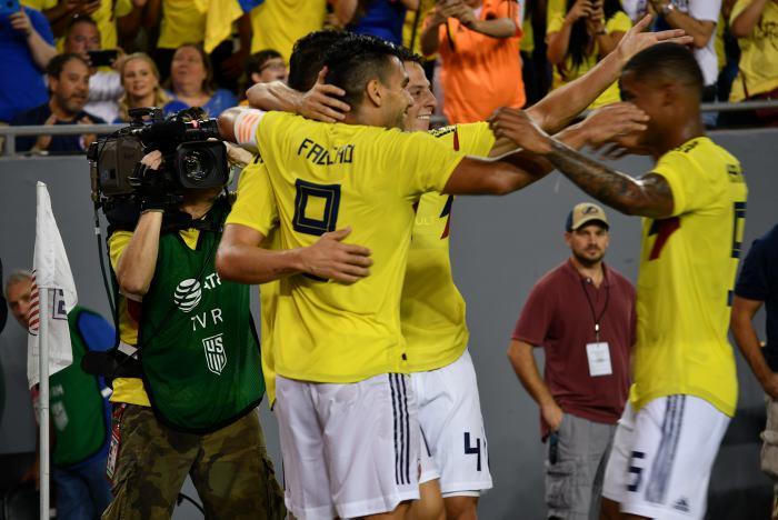 Colombia venció a Estados Unidos en el amistoso internacional
