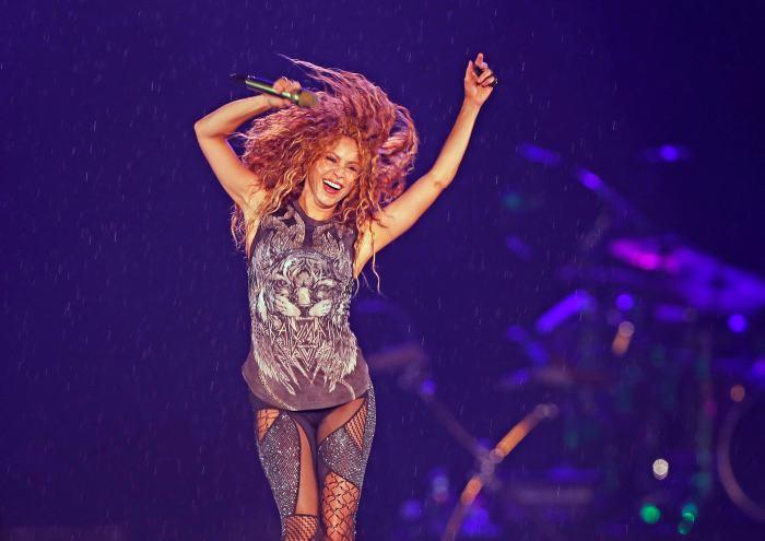 Shakira: así fue su llegada a la Argentina