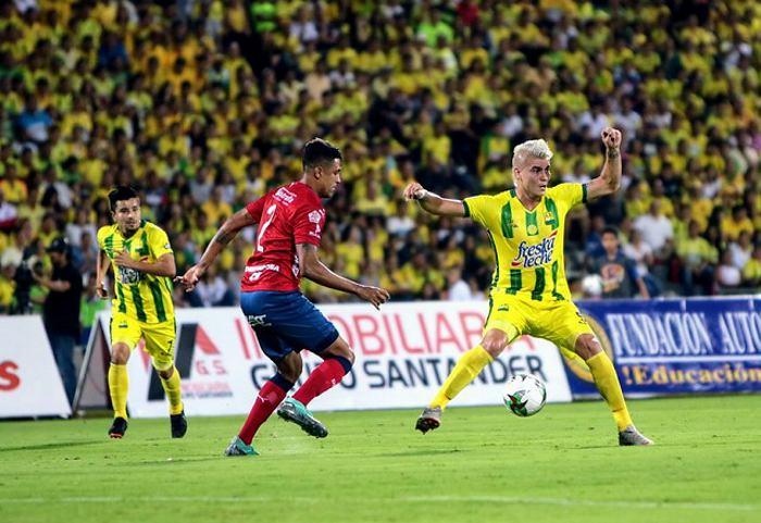 Atlético Bucaramanga y Medellín se enfrentaron en la vuelta de los cuartos de final de la Liga Águila II de 2018