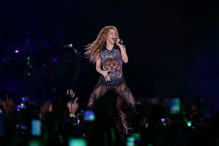 Shakira, agradecida con Colombia, deleitó así a los fanáticos en concierto