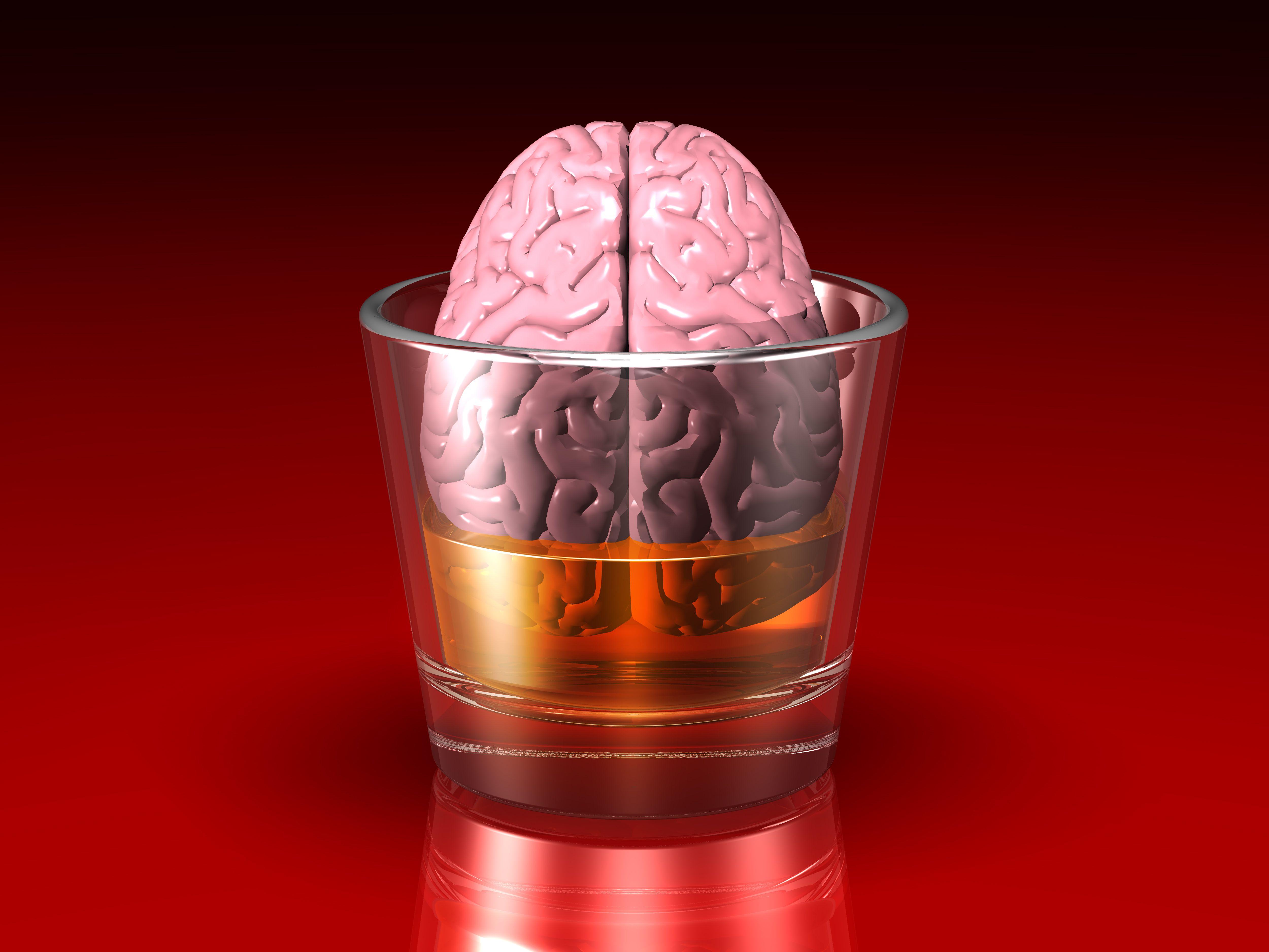 Cuidado: el alcohol tiene incidencia sobre el cerebro