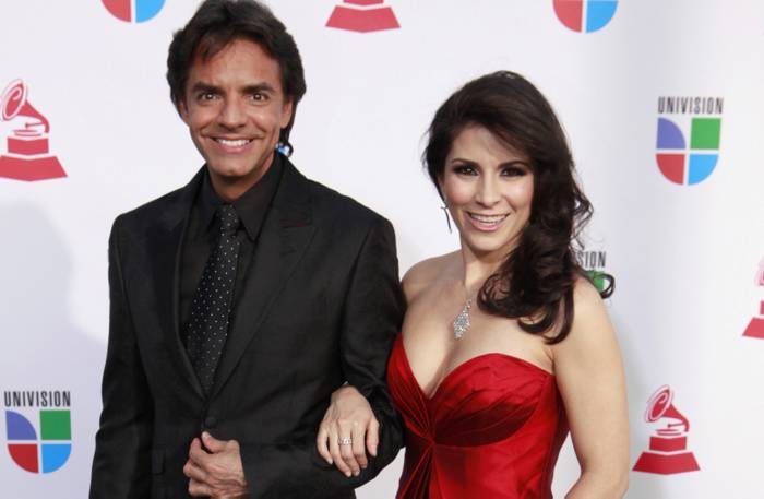 Gabriela Michel y Eugenio Derbez Eugenio Derbez y la Cantante y