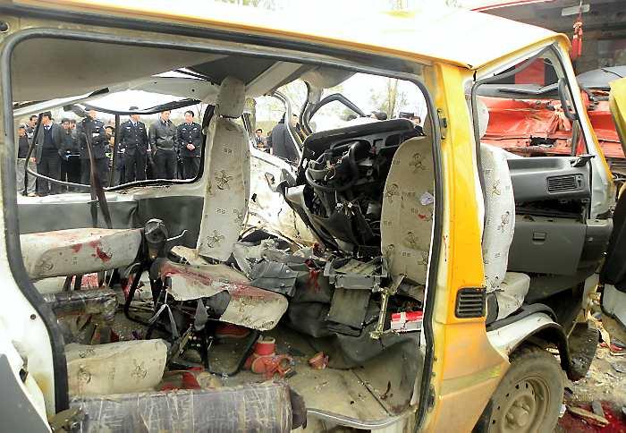 de pasajeros por el accidente, informó la agencia de noticias Xinhua