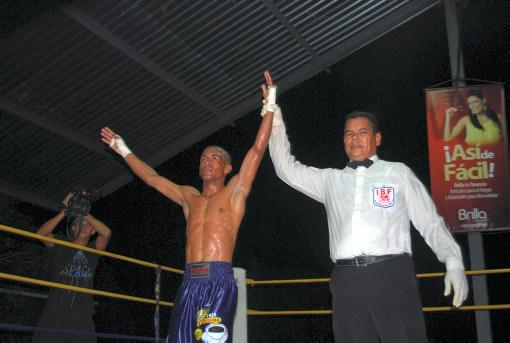 "Cachitas"" Mendoza ganó título bolivariano de boxeo profesional ..."