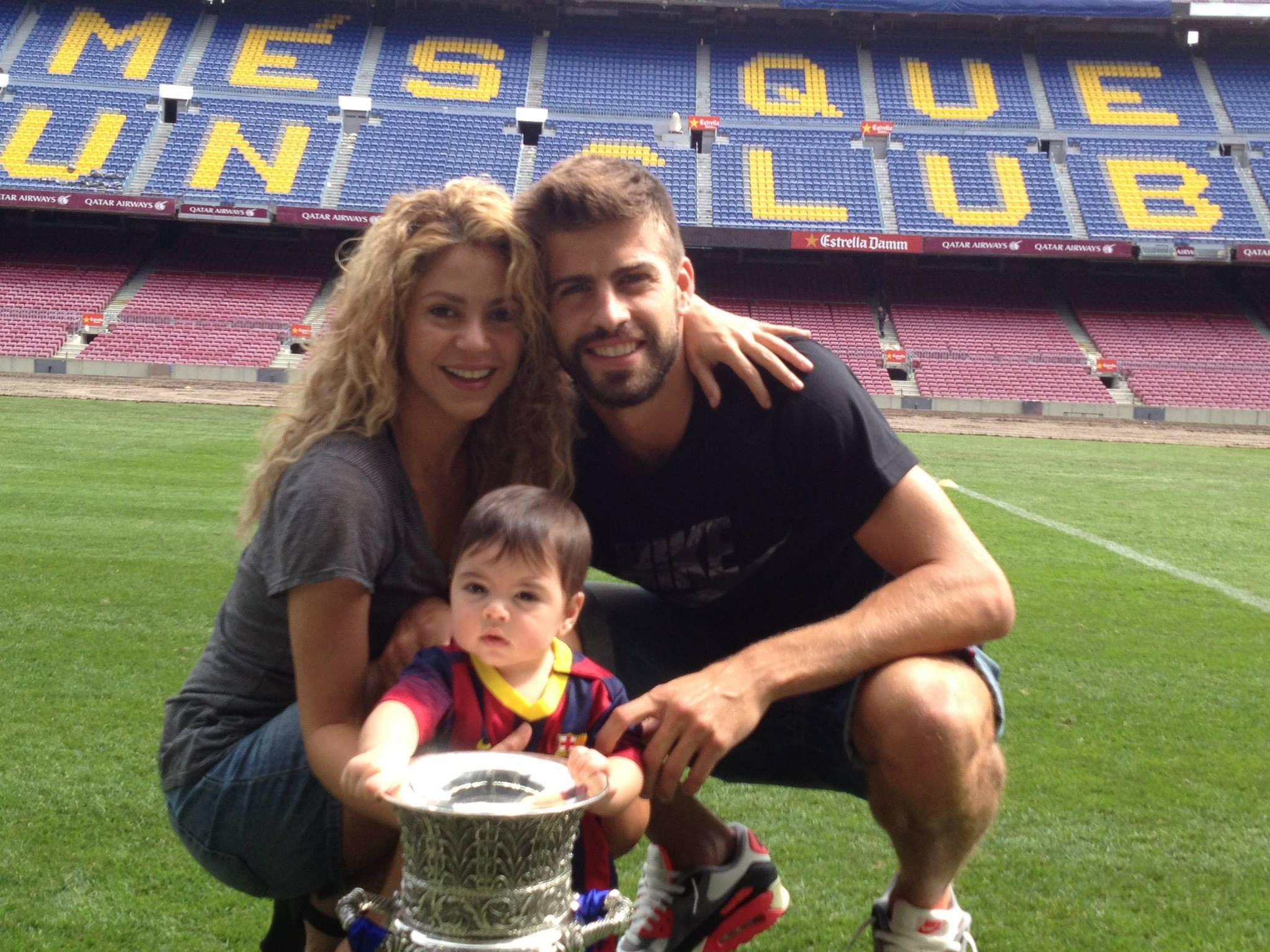 El hijo de Shakira y Piqué se llamará Sasha y ya es socio del FC Barcelona