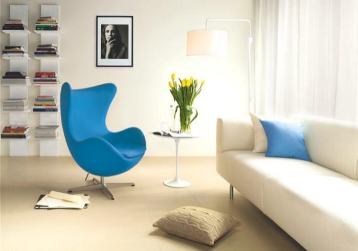 colores fros como el azul son perfectos para usar en reas pequeas y cerradas este toquecito de azul a travs de un solo mueble o un accesorio