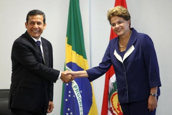 Ollanta Humala y Dilma Rousseff