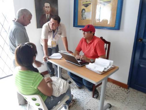 Consultorio jurídico en El Carmen de Bolívar a beneficio de campesinos.