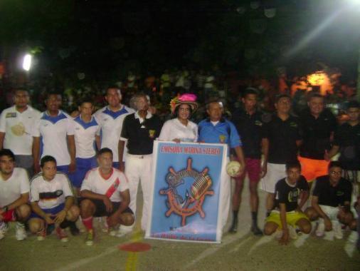 """En la """"Copa Marina Estéreo"""" participan estudiantes, jóvenes en riesgo, periodist"""