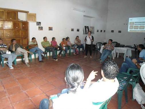 Foro de periodistas en El Carmen de Bolívar.