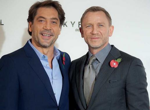 Daniel Craig será el agente 007 y Javier Bardem el principal villano.