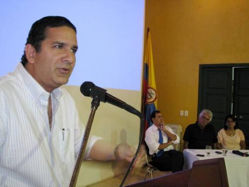 Juan Carlos Gossain, gobernador de Bolívar.