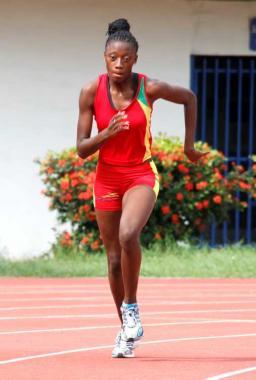 Guiselly Landázury, atleta