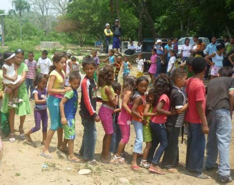 Las actividades escolares y lúdicas están suspendidas en Macayepos, porque no ha
