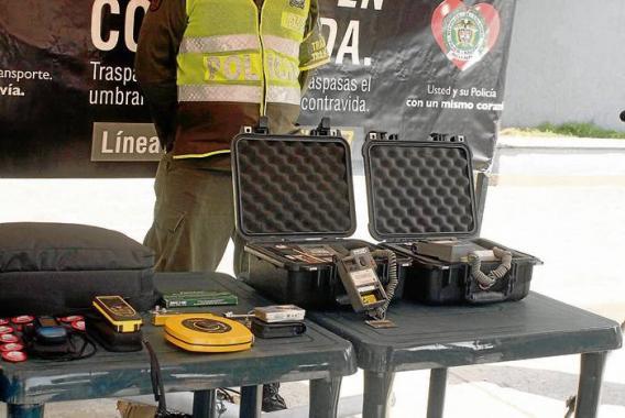 a Policía de Carretera de Sucre se encarga del control de movilidad en Sucre